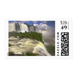 South America, Brazil, Igwacu Falls. Glorious Postage Stamp