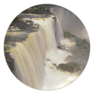 South America, Brazil, Igwacu Falls, Igwazu Party Plates