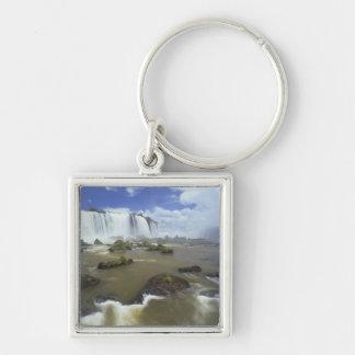 South America, Brazil, Igwacu Falls. Towering Keychain
