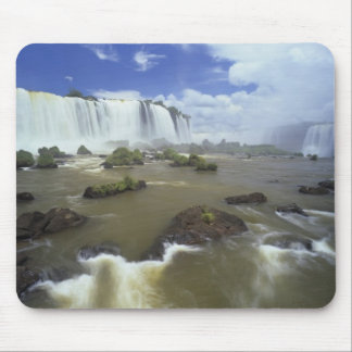 South America, Brazil, Igwacu Falls. Towering Mouse Pad