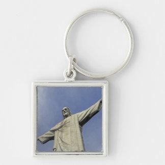South America, Brazil, Rio de Janeiro. Christ 2 Keychain