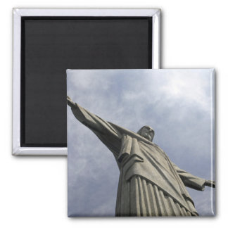 South America, Brazil, Rio de Janeiro. Christ 3 Magnet