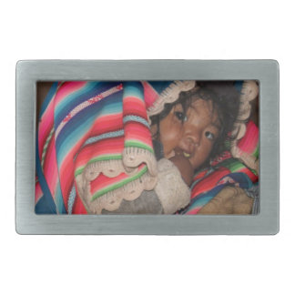 South America Children, South American Child, Baby Belt Buckle