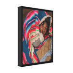 South America Children, South American Child, Baby Canvas Print
