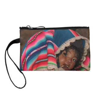South America Children, South American Child, Baby Change Purse