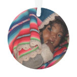 South America Children, South American Child, Baby Ornament
