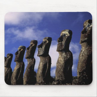 South America, Chile, Easter Island, Ahu Akiri. Mouse Pad
