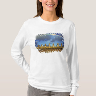 South America, Chile, Easter Island. The full T-Shirt