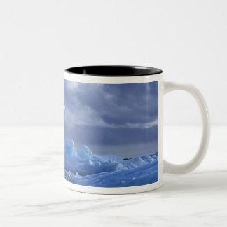 South America, Chile, San Rafael Lagoon NP. Two-Tone Coffee Mug