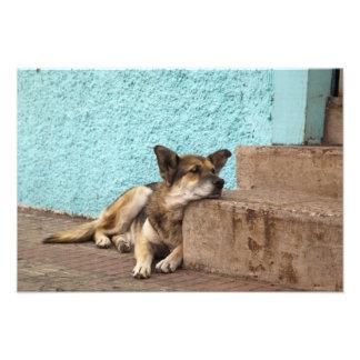 South America, Chile, Valparaiso. German Photo Print