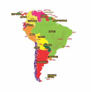 South America Cutout