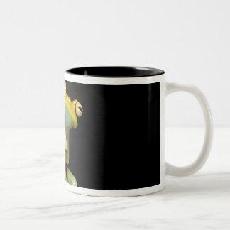 South America, Ecuador, Amazon. Tree frog (Hyla Two-Tone Coffee Mug