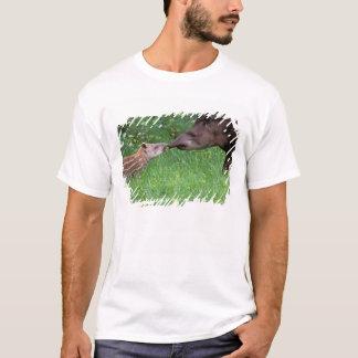South America, Ecuador, Black waters area. T-Shirt