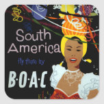 South America ~ Fly There Sticker