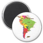 South America Fridge Magnets