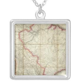 South America map 3 Custom Jewelry