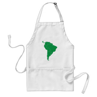 South America Map Aprons