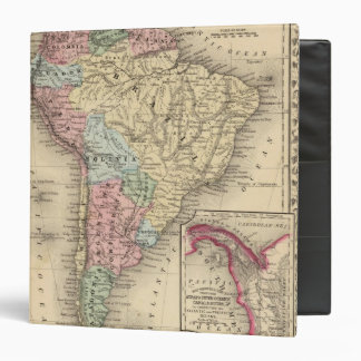 South America Map by Mitchell 3 Ring Binder