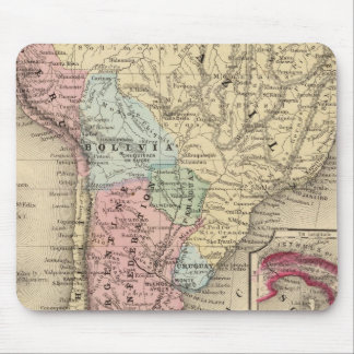 South America Map by Mitchell Mouse Pad