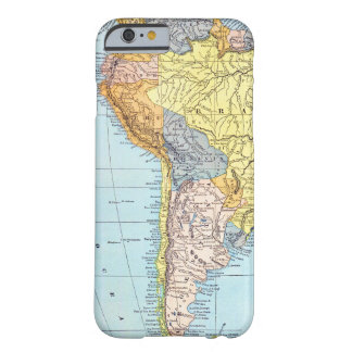 SOUTH AMERICA: MAP, c1890 Barely There iPhone 6 Case