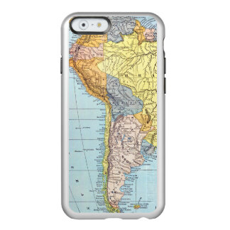 SOUTH AMERICA: MAP, c1890 Incipio Feather Shine iPhone 6 Case