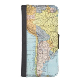 SOUTH AMERICA: MAP, c1890 Wallet Phone Case For iPhone SE/5/5s