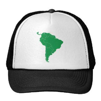 South America Map Trucker Hat
