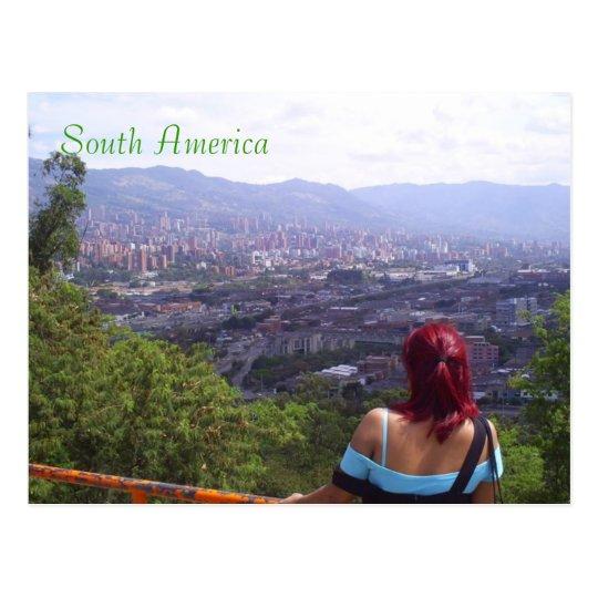 South America medellin colombia Postcard
