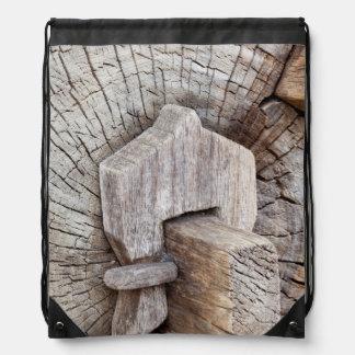 South America, Mexico, Tecate Drawstring Bag