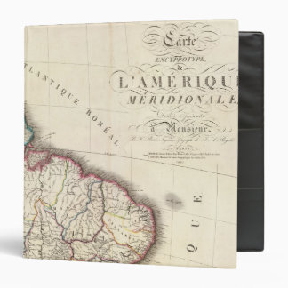 South America Northeast 3 Ring Binder