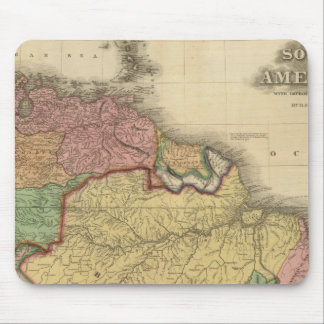 South America northern half Mouse Pad