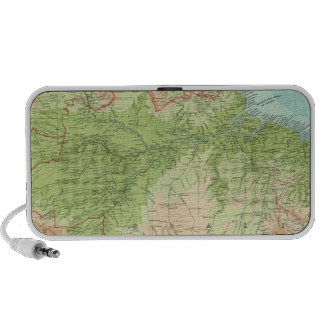 South America northern section Mini Speaker