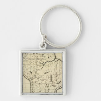 South America outline Keychain
