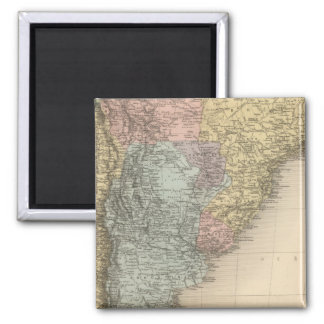 South America Part Medionale Refrigerator Magnets