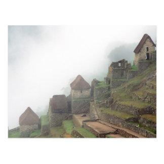 South America Peru Macchu Picchu Postcard