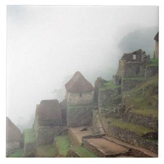 South America Peru Macchu Picchu Tile