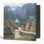 South America, Peru, Machu Picchu 3 Ring Binders