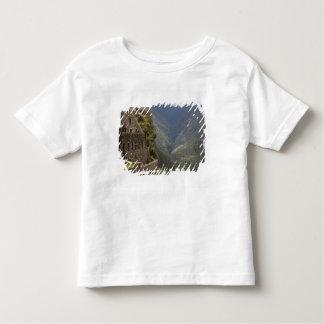 South America, Peru, Machu Picchu. Stone ruins Toddler T-shirt