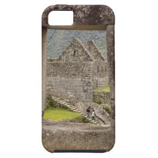 South America, Peru, Machu Picchu. Two tourists iPhone 5 Covers