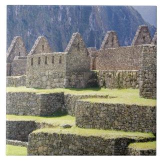 South America - Peru. Stonework in the lost Inca Ceramic Tile
