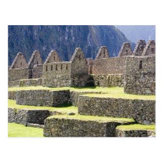 South America - Peru. Stonework in the lost Inca Postcard