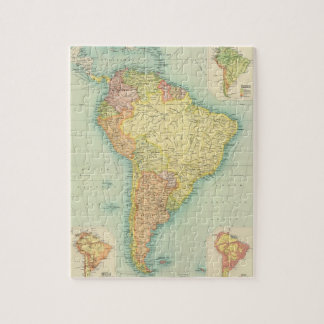 South America political Jigsaw Puzzle