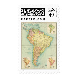 South America political Postage