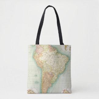 South America political Tote Bag