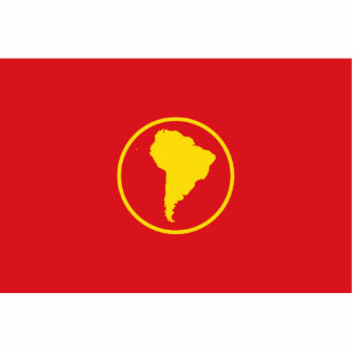 South America (Proposal) flag Photo Cut Outs