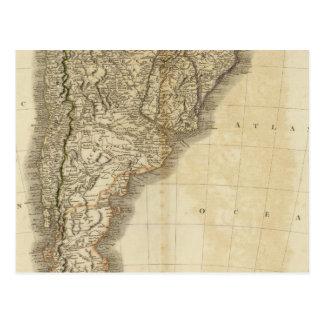 South America south Postcard