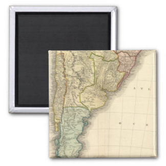 South America southern half Magnet