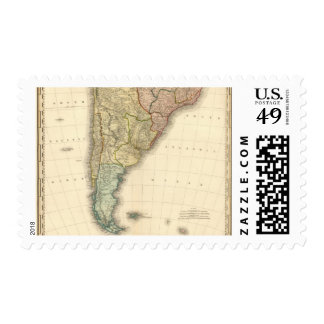 South America southern half Postage Stamps