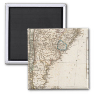 South America southern region Magnet