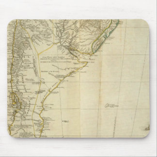 South America Southern Section Mouse Pad
